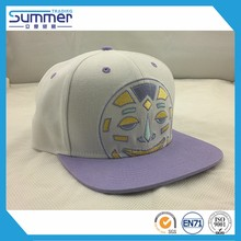 custom logo stylish brush cotton baseball cap