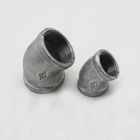 High quality galvanized ductile malleable cast iron pipe fitting