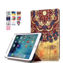 IFC096 Pattern Flip case for iPad Mini 4, Magnet Smart cover for iPad,PU stand cover case for APPLE iPad Mini