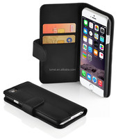 For Apple Iphone 6 Colorful PU Leather Wallet Card Slots cell phone Case