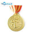 new products gold plating tennis ball medal