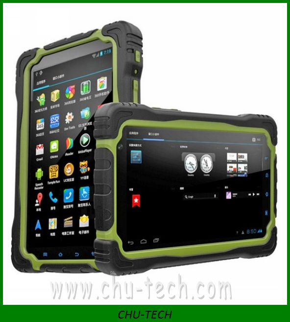 waterproof smart tablet T70 IP67 rugged tablet pc 7 inch MTK6577 dual core