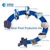 Low Invest Solar Panel Manufacturing Equipments Making 10MW 20MW PV Module Production Line