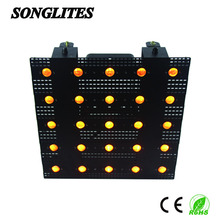 Amber 25*3W LED beam matrix led light moving head magic panel