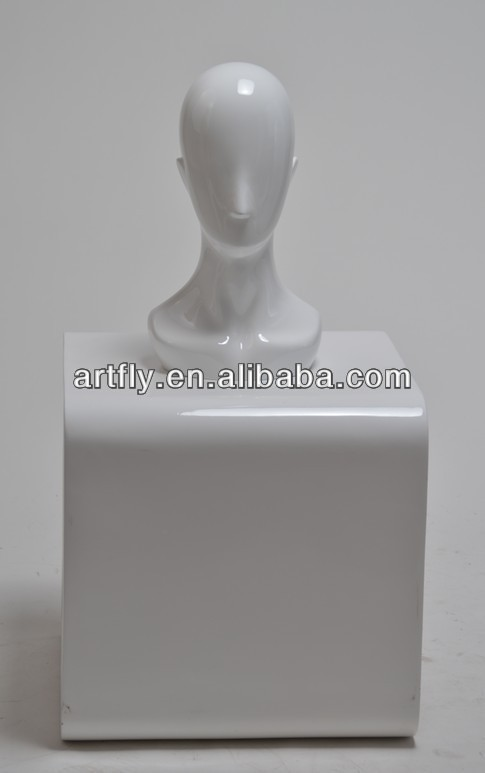styrofoam wig mannequin head without hair