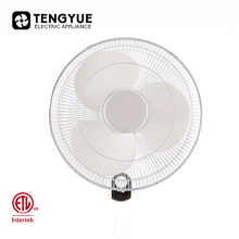 ETL 16 inch wall fan & plant shed 45 degree electric wall fan & 3 speed ventilador oscilante de pared fan wall