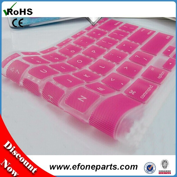High quality for macbook pro keyboard, colorful cover for macbook keyboard, for macbook air keyboard protector with low price