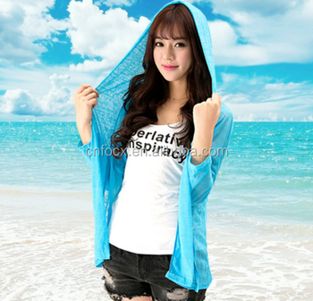 Fashion beach sun protection clothing/sunscreen skin clothing /sunscreen skirt