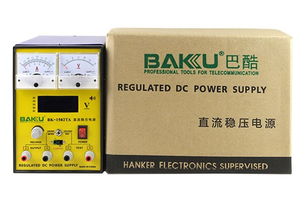 Baku Hot Quality Best Price Versatility 15Volts Power Supply 1502TA for Cell phone Switch On