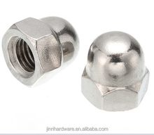 M4*8H M5*10H M6*12H M8*15H M10*18H M12*22H Acorn Nut stainless steel 304 acorn nut Cap Nuts Decorative Cover Semicircle