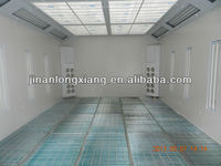 LX-2B Newly Design Hot Sale Water Soluble Car Spray Paint Booth Price Auto Body Spray Paint Oven