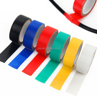 2015 colorful Rubber adhesive PVC Electrical Insulation Tape
