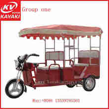 China Supplier 3 Wheel Rickshaw For Passenger With Abs- Roof /auto E-rickshaw /electric Three-wheeled Passenger Taxi