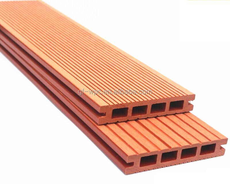 Wood composite decking wood plastic composite wood plastic for Plastic decking material