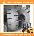 Rim-Bounded Solid Tyres Forklift Tyres 300x86