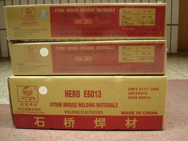 Welding electrode composition E6010 E7018 welding rods