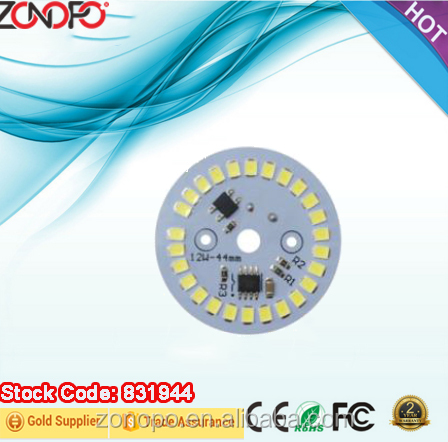 12w economic 220v 80ra 80lm long life less flicker alternating current bulb led dimmable driver on board