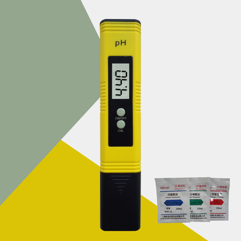 ph meter A ph meter is an electronic device that measures ph, which is the acidity (low ph state) and alkalinity (high ph state) of substances, via a glass electrode probe.