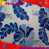 excellent design wholesale printed organic woven technic combed cotton fabric