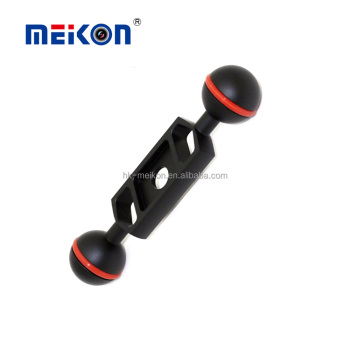 "Meikon 4"" Double Ball Arm for Underwater Photograph"