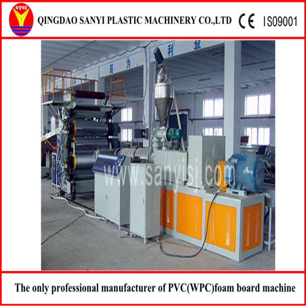 PVC Artificial Marble Sheet/Wall Panel/Interior Decoration Board Production Line