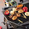 2016 innovative kitchen product portable bbq tools heat resistant non stick grill mat