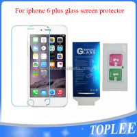 wholesale price!! for iphone 6 plus Tempered Glass Film Screen protector