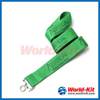 Polyester lanyard with customized logo