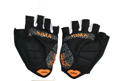Fingerless safety sports glove