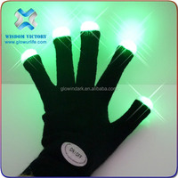 2015 cheap Party Light Up Gloves/Adult Custom Logo Led Gloves