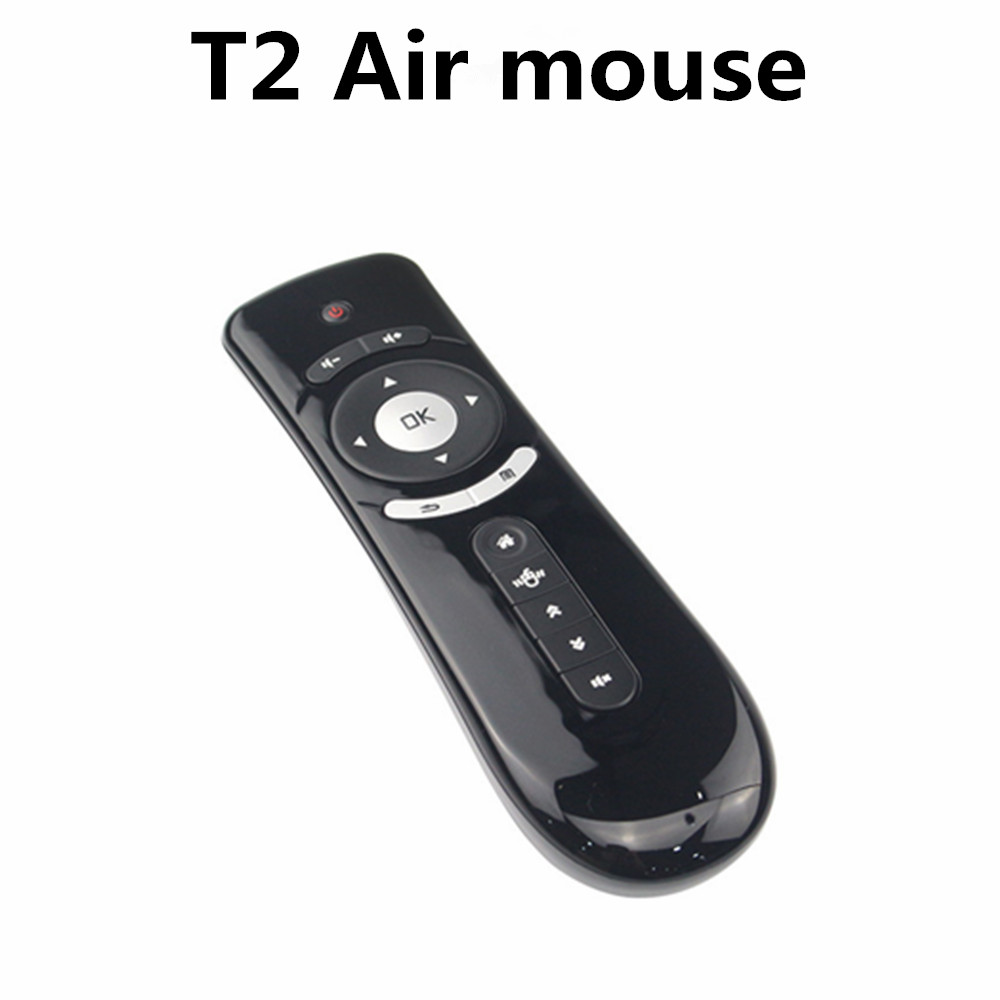 Fly Air Mouse T2 2.4G Wireless Keyboard Mouse Android remote control 3D Sense Motion Stick For TV Box