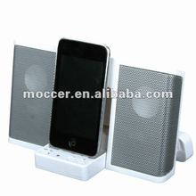 for iPhone/ipod Docking station Speaker