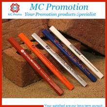 cheap wood carpenter pencil with logo