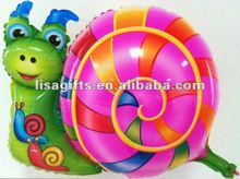 2012 hot snail shape helium balloon
