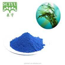 High quality wholesale natural phycocyanin organic blue spirulina powder