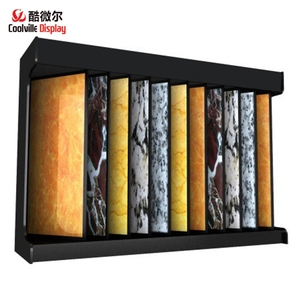 Showroom Wing Rack for Ceramics Tiles Marble Granite Stone Slab Display Stands