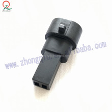 2pin male pa66 delphi waterproof connector pbt gf20 connector