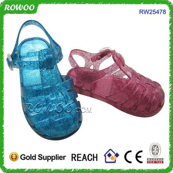 latest jelly baby sandal new design kids pvc sandals