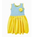 Aqua Tank Sewing Dress for Young Stage