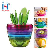 10-in-1Fruits Plant Multi Kitchen Tool Vegetable and Fruit Slicer