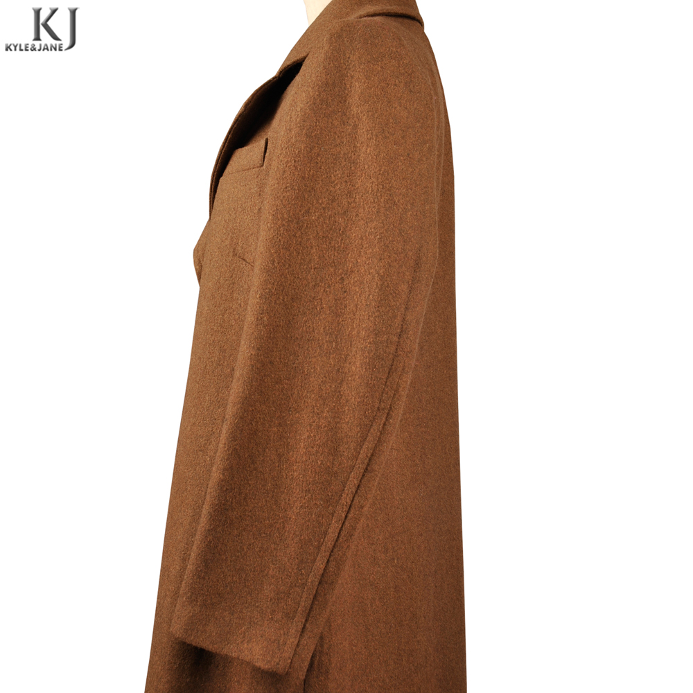 Hot Sell Latest Muslim brown simple elegent long coat cashmere women Abaya Modern Islamic Clothing Arabic Wholesale