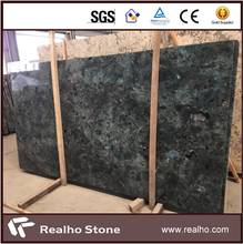 Polished Madagascar Labradorite Blue Granite Slabs
