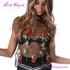 2017 Blouse Women Summer Flower Print Black Transparent Short Sleeve Shirt Latest Design Girls Top