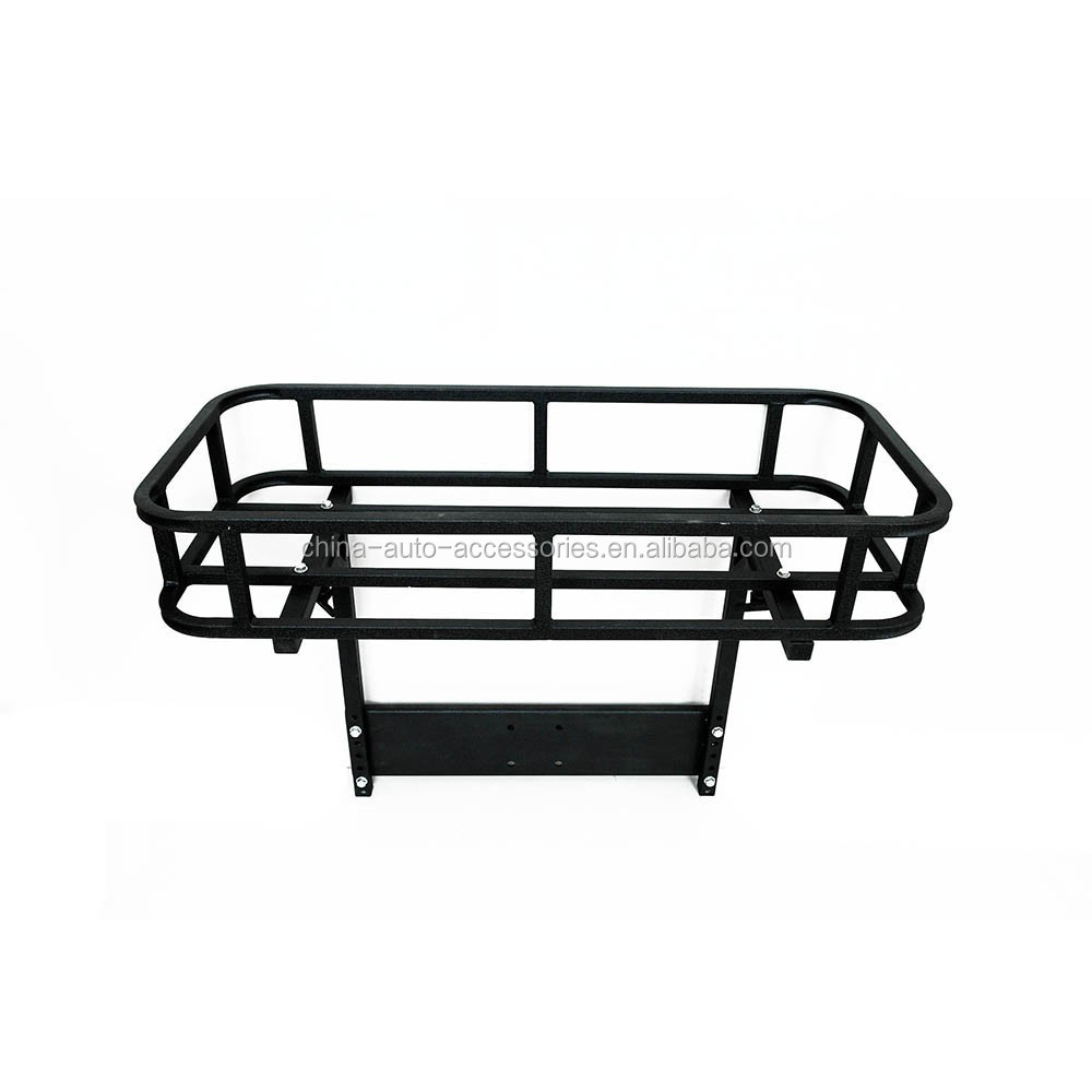 87-15 Jeep Wrangler YJ,TJ & JK Rear Cargo Basket w/ Mounting Plate Included (51-0315, 51-0325, 51-0011 & 51-0015 Bumpers Only)