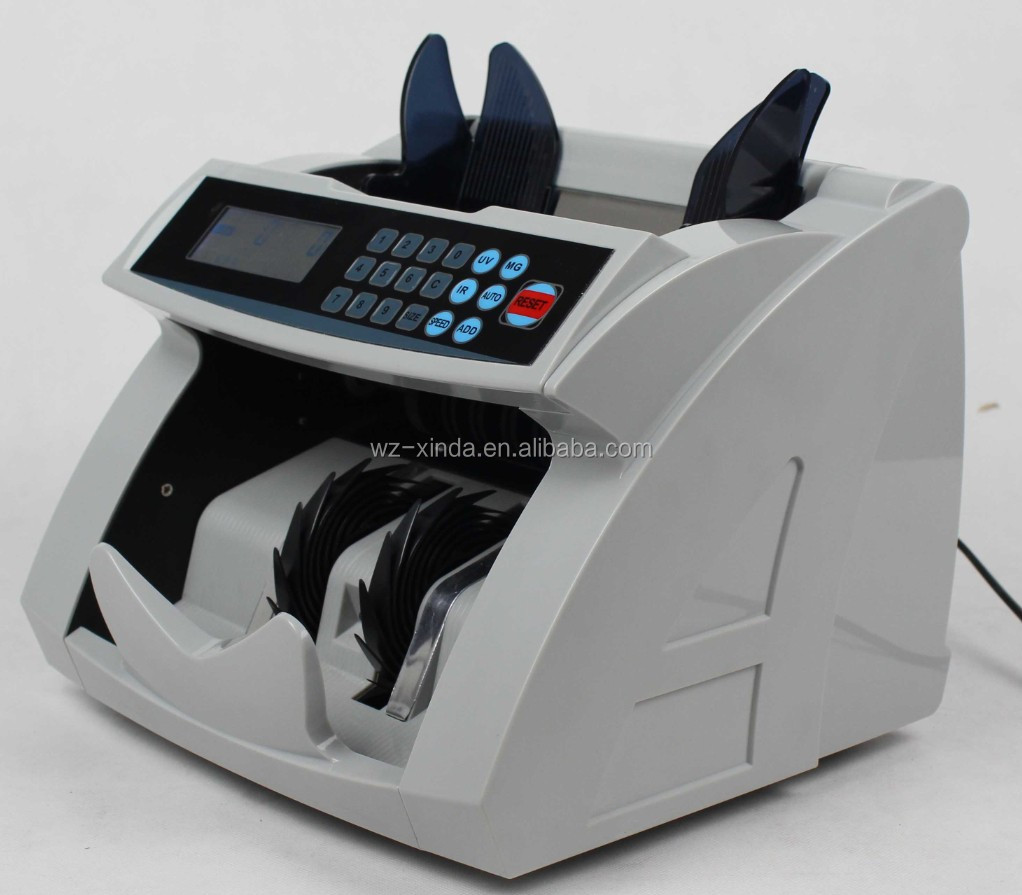 New Type Money Counting and Detecting Machine with UV/MG/IR