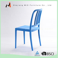 stacking plastic event wedding chair with high back
