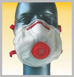 Premium large Cup Style Respirator