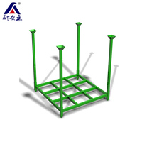 China Supplier Heavy Duty Steel Pallet Stacking Frames