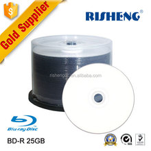 RISHENG blue ray disc blu ray movies/blank blu-ray 25gb 6x/bd 25 gb 6x wholesale