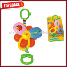 Baby toy with musical pull string